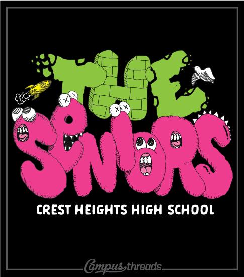 Senior Class T-shirt Album