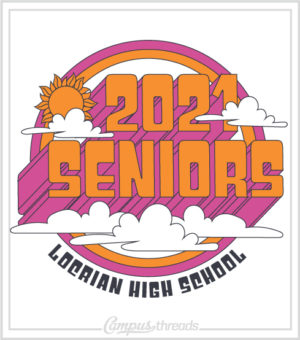 Senior Class Shirt Retro Seventies