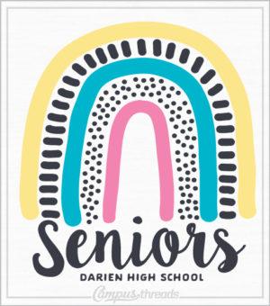 Senior Class Shirt Rainbow
