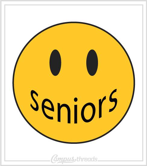Senior Class Shirt Smiley Face