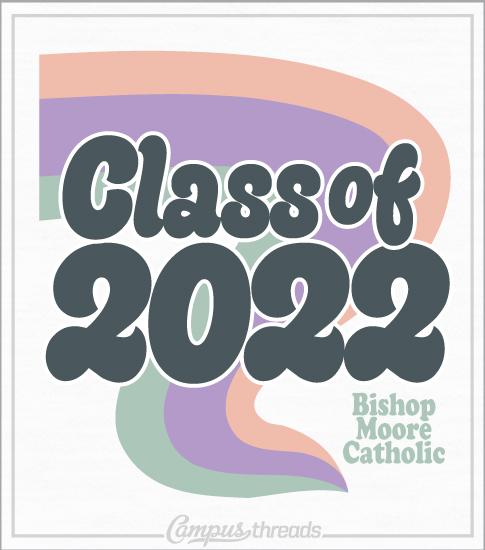Class of 2022 Retro Senior T-shirt