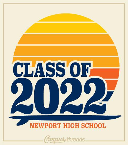 Retro Surf T-shirt Class 2022