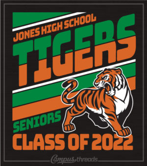 Class of 2022 Shirt with Tiger