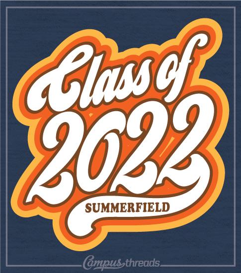 Class of 2022 Shirt Retro Seventies
