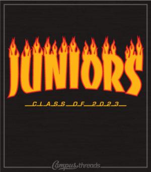 Junior Class Shirt Skateboard Design