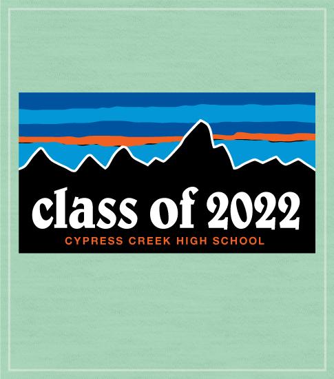 Class of 2022 T-shirt Mountains