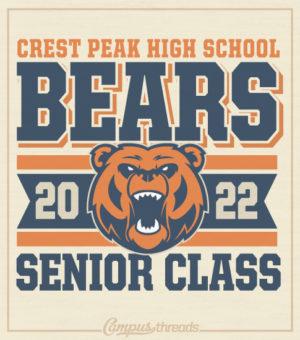 Bears Senior Class of 2022 Shirts