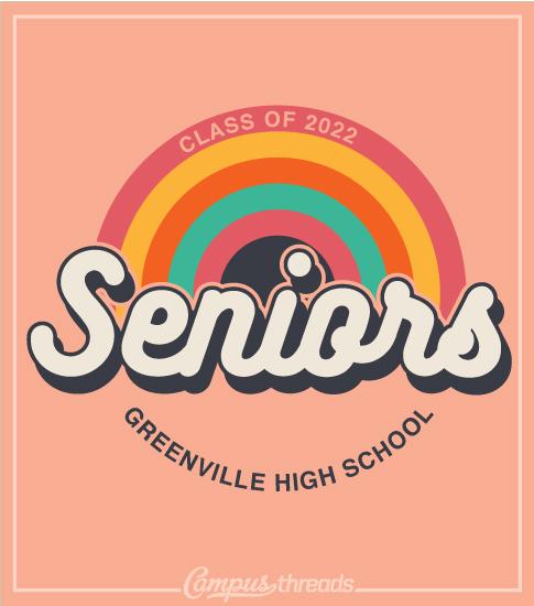 Senior Class Shirts Rainbow