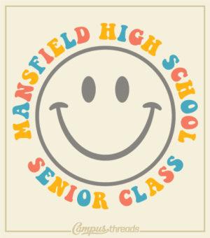 Senior Class Smiley Face Shirt