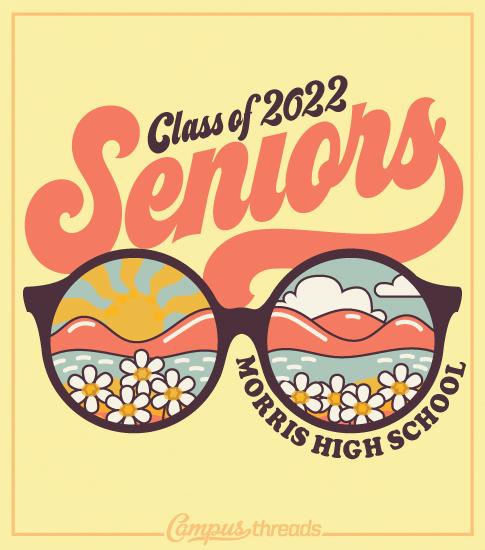 Senior Class Shirts Glasses