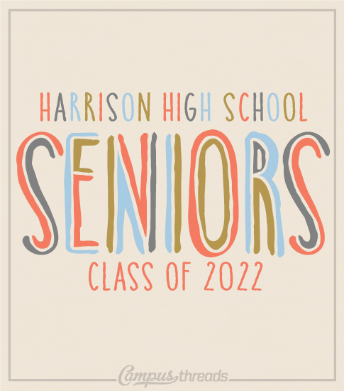 Senior Class Shirt Drawn