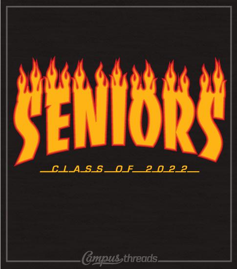 Class of 2022 Senior Skateboard T-shirt