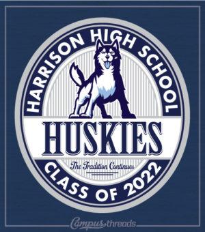 Senior Class Shirts with Husky