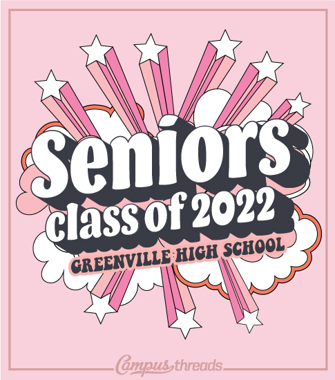 Senior Class Shirts Stars and Clouds